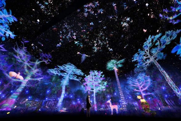 story-of-the-forest-at-national-museum-of-singapore-artist-impression-by-teamlab-1