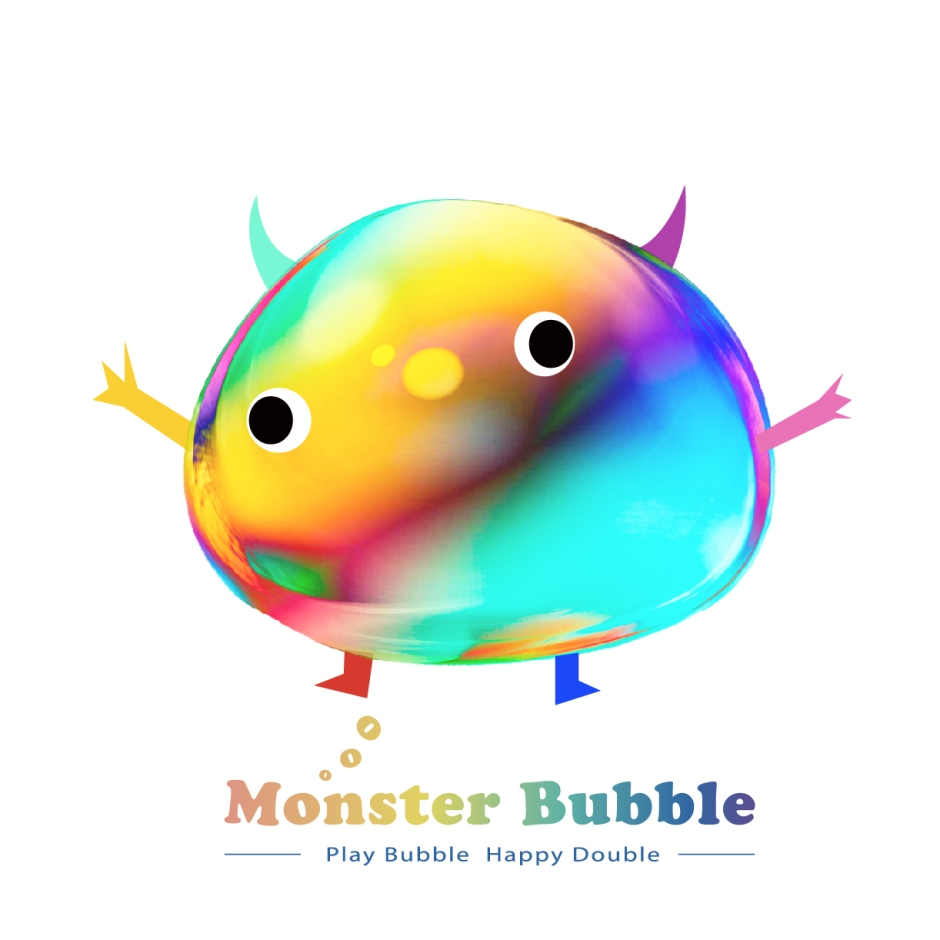 Monster Bubble Logo
